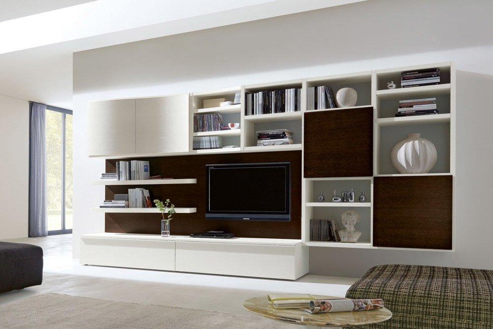 Pareti attrezzate composizione 550 da napol arredamenti - Mobili porta tv mercatone uno ...