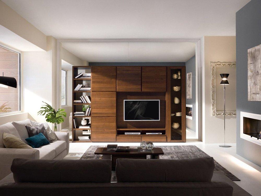 Pareti attrezzate composizione sistema 38 da bruno piombini for Designbest outlet