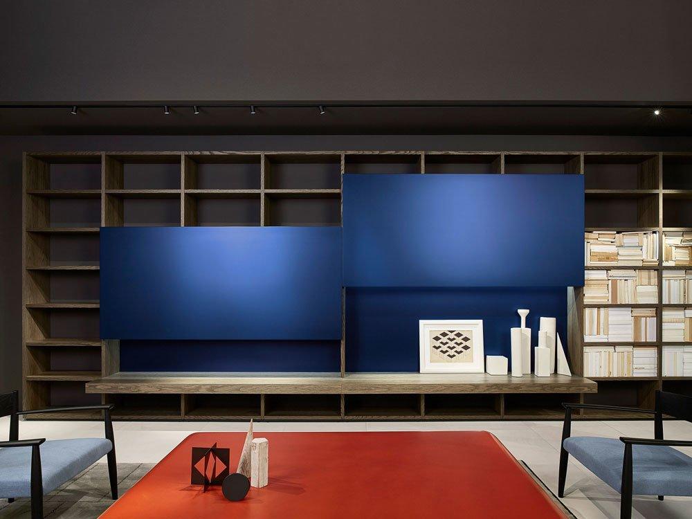 porro wohnw nde wohnwand system designbest. Black Bedroom Furniture Sets. Home Design Ideas