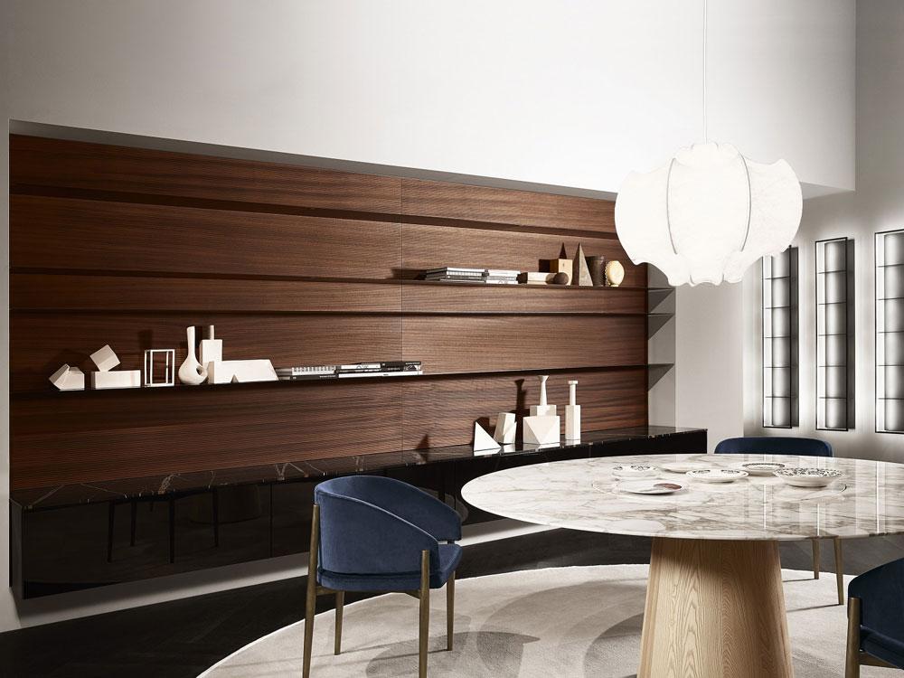 porro wohnw nde wohnwand modern designbest. Black Bedroom Furniture Sets. Home Design Ideas