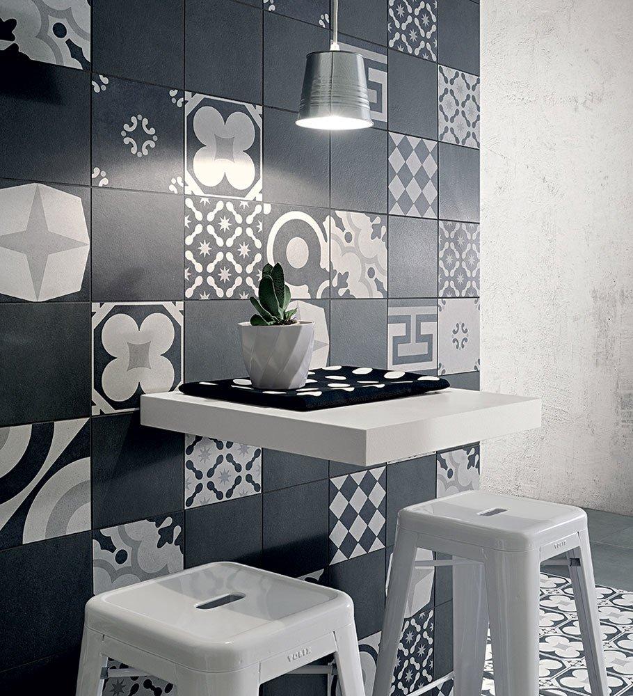 Collezione Cementine Black&White