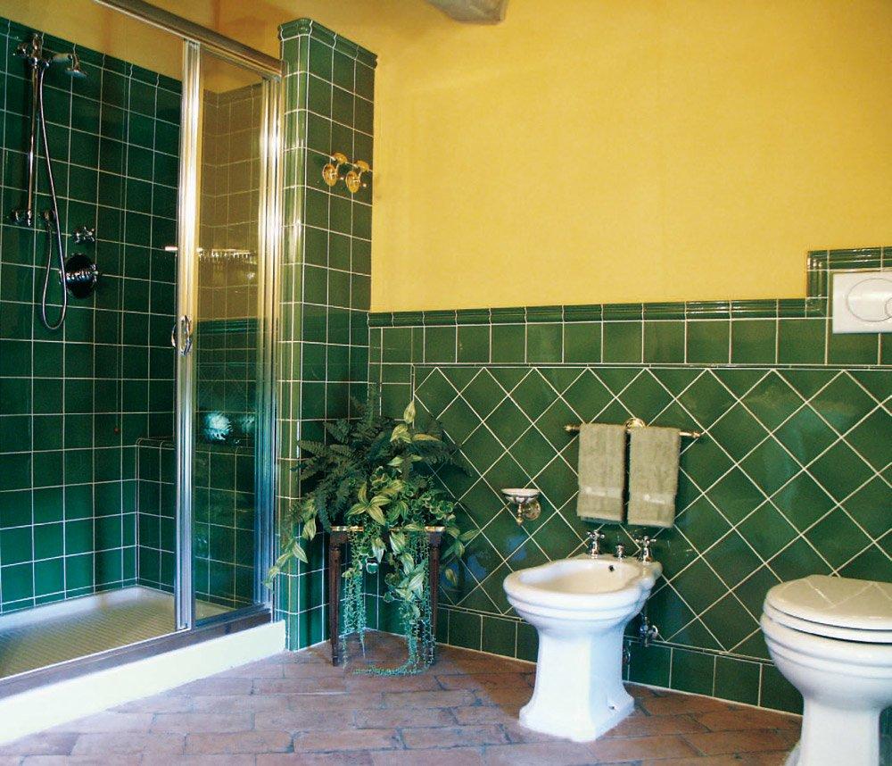 Bagno piastrelle verdi ek27 regardsdefemmes - Piastrelle x bagni ...