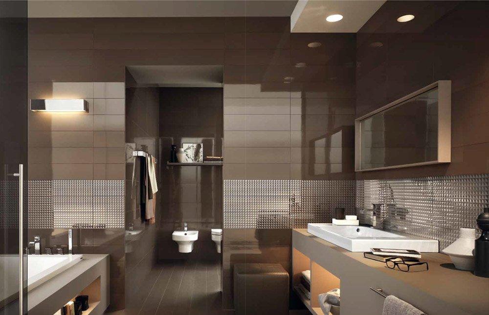Bagni moderni con doccia colorati piastrelle collezione - Piastrelle design moderno ...