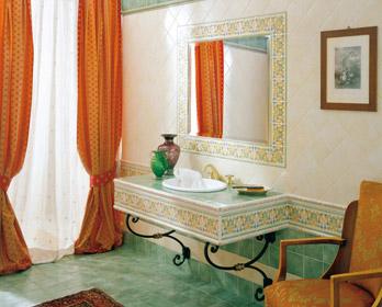 Collezione 15x15 - Barocco Verde Veronese