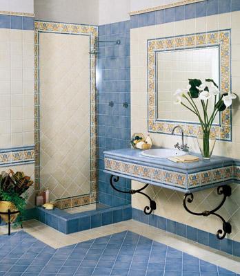 Collezione 15x15 - Barocco Blu Antico