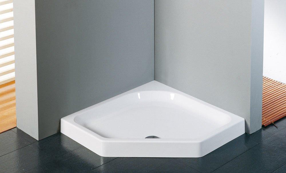 Piatti doccia piatto doccia victory p da novellini - Box doccia pentagonale ...