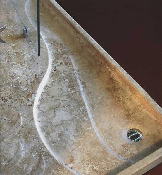 Piatti doccia piatto doccia antea da i sassi di assisi - Piatto doccia sassi ...
