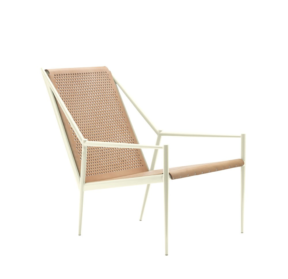 cappellini kleine sessel kleiner sessel acciaio lounge. Black Bedroom Furniture Sets. Home Design Ideas
