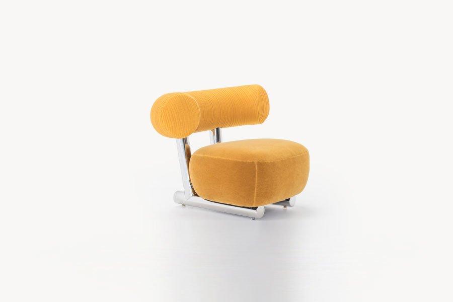 moroso kleine sessel kleiner sessel pipe designbest. Black Bedroom Furniture Sets. Home Design Ideas