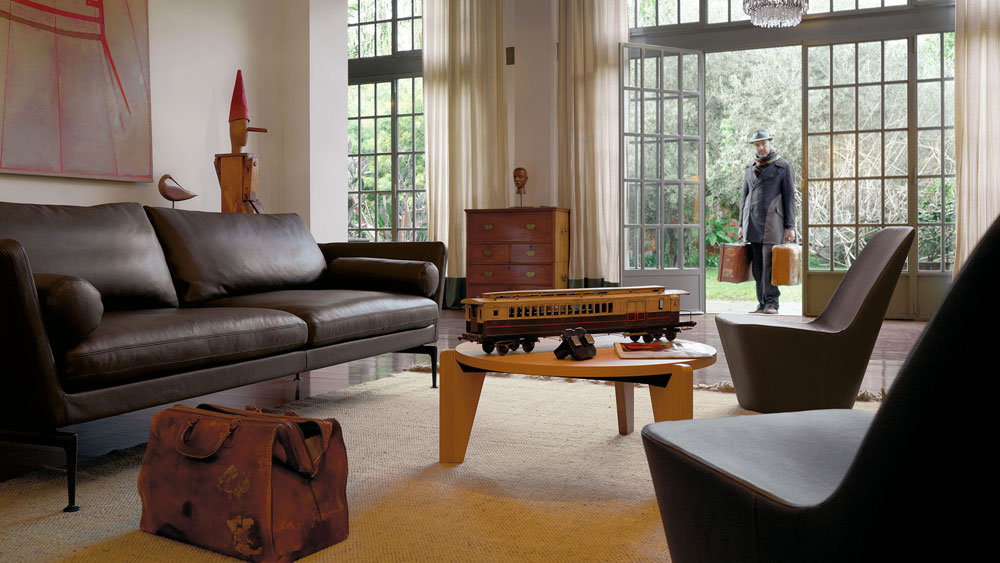 vitra kleine sessel kleiner sessel monopod designbest. Black Bedroom Furniture Sets. Home Design Ideas