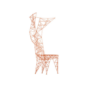 Armchair Pylon Chair