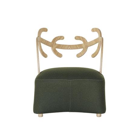 Kleiner Sessel Antler