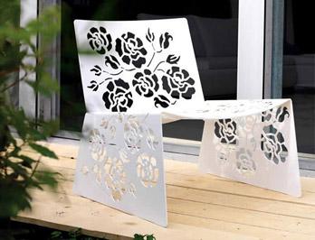 Kleiner Sessel Roses
