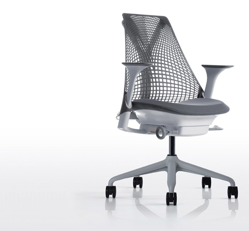 Catalogue petit fauteuil sayl a herman miller designbest for Petit fauteuil de bureau