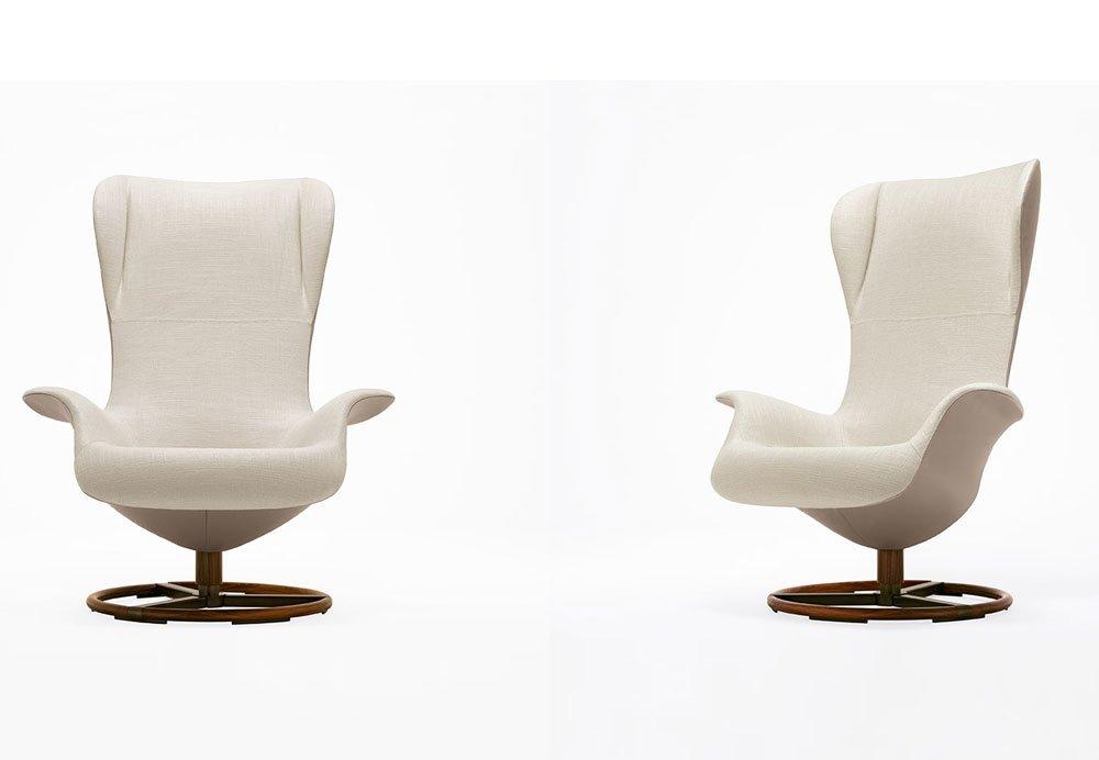 Catalogue fauteuil tilt giorgetti designbest for Giorgetti poltrone