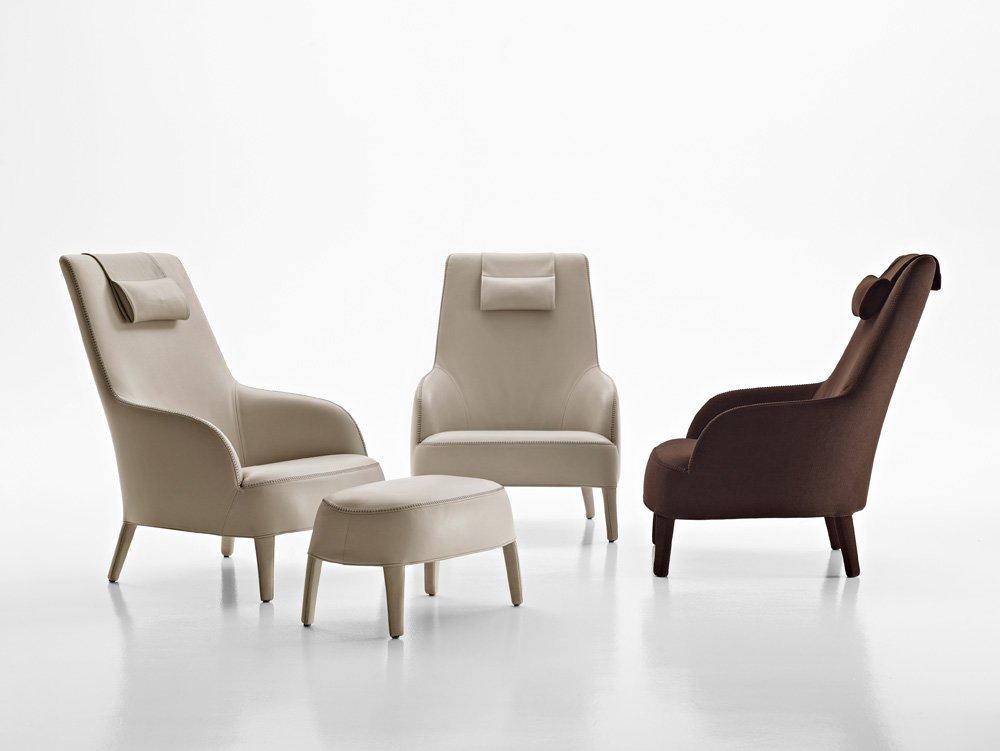 poltrone poltrona febo a da maxalto. Black Bedroom Furniture Sets. Home Design Ideas