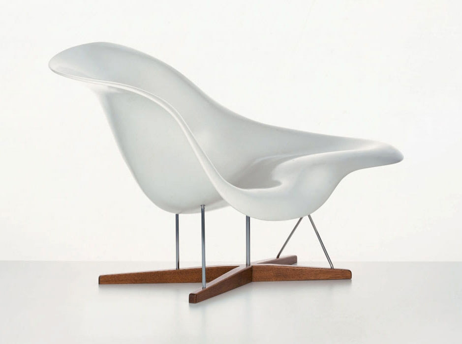 Fauteuils fauteuil la chaise par vitra for Chaise haute vitra