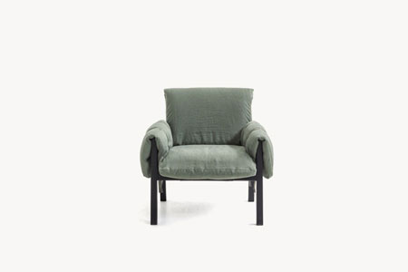 Fauteuil Strapped de Diesel Living With Moroso