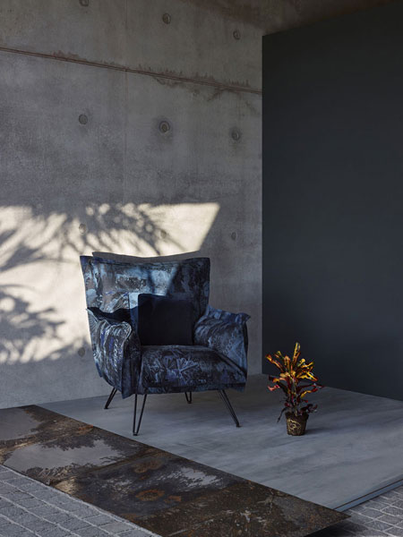 Poltrona Cloudscape Natural Orgy di Diesel Living With Moroso