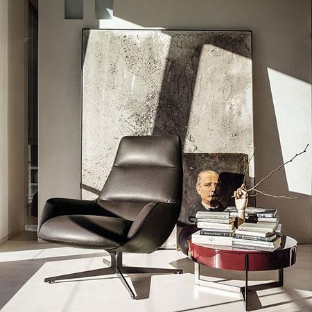 Lounge armchair Lady Jane