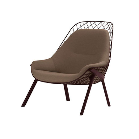 Armchair Gran Kobi by Alias