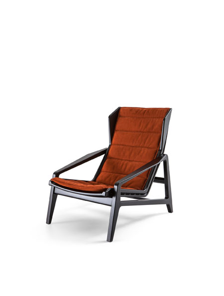 Armchair D.156.3 by Molteni&C