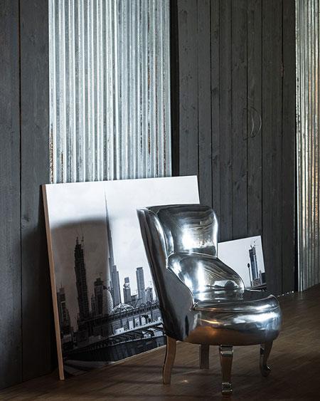 Poltrona Sellerina Aluminium