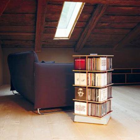 cd aufbewahrung cd m bel musikstapler von moormann. Black Bedroom Furniture Sets. Home Design Ideas