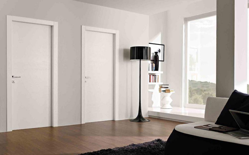 Casa di campagna porte blindate garofoli - Porte interne bianche ...