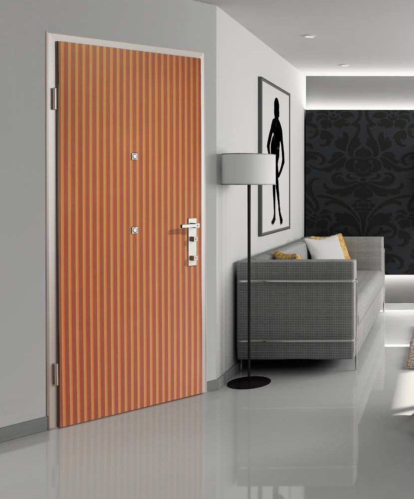 Armoured doors armoured door 883 dibidoku linear by di for Dibi porte blindate