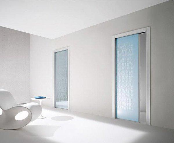 Porte scorrevoli in vetro tutte le offerte cascare a - Porte laccate o laminate ...