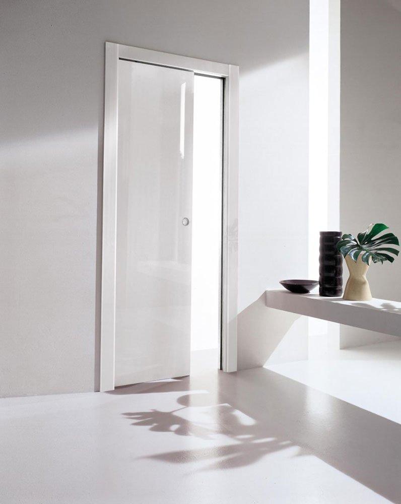 Porte scorrevoli porta rever b da tre p tre pi - Porte a specchio a scomparsa ...