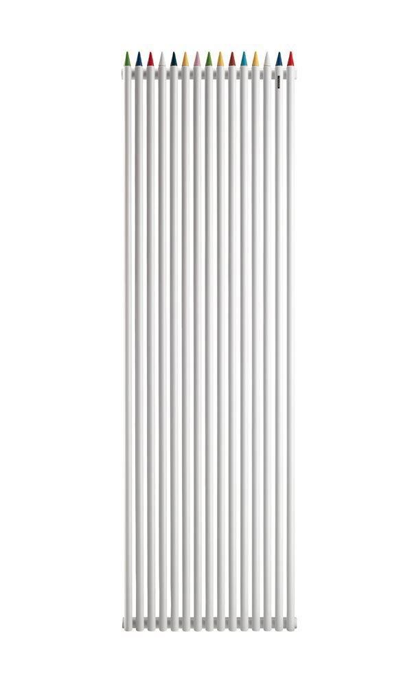 Radiatori di arredo radiatore matitone da tubes for Radiatori di arredo