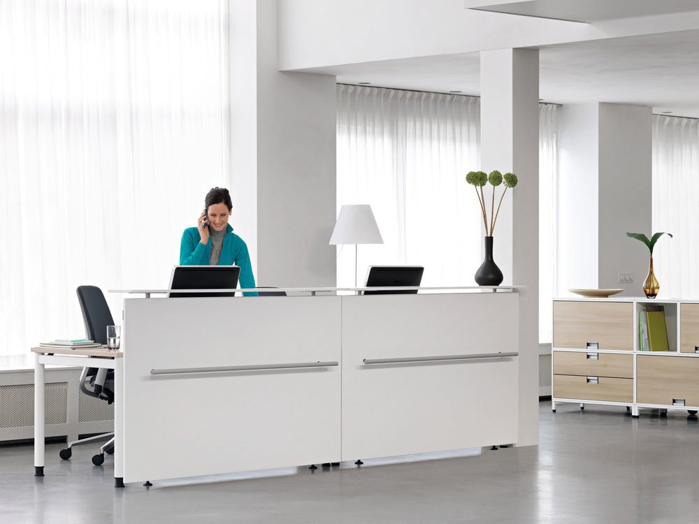 Reception Desk Reception Desk Universal Counter By Steelcase