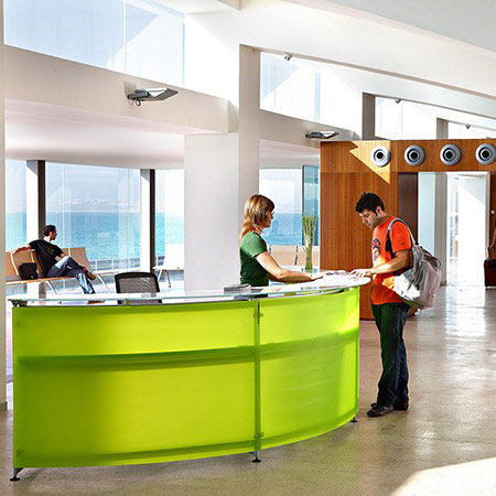 Reception desk Informa