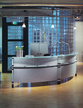 Reception desk Quadrino