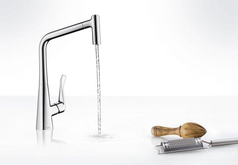 Rubinetti cucina miscelatore metris da hansgrohe - Hansgrohe rubinetti cucina ...