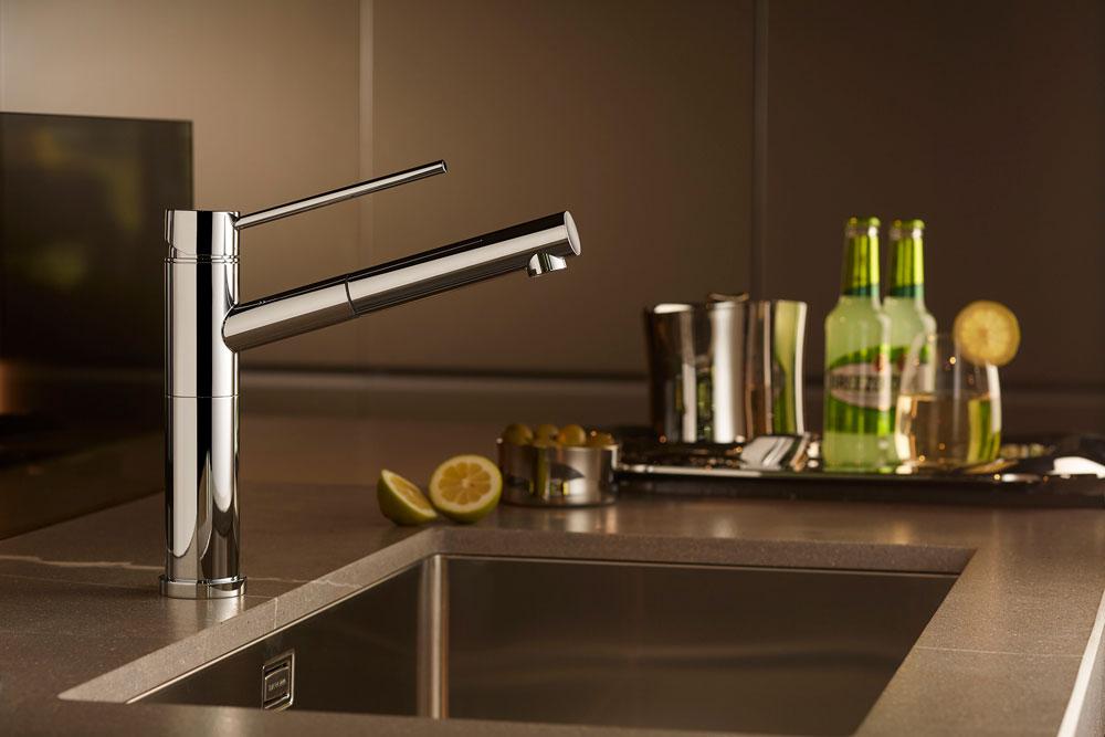 Rubinetti cucina miscelatore x trend kitchen da newform - Rubinetti x cucina ...