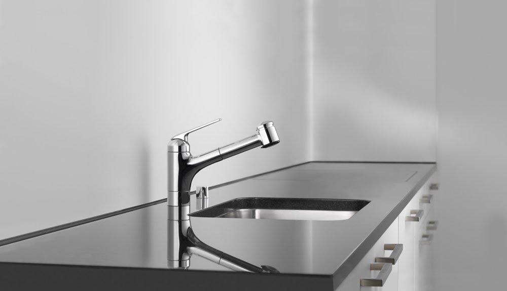 kwc armaturen f r die k che mischbatterie kwc domo designbest. Black Bedroom Furniture Sets. Home Design Ideas