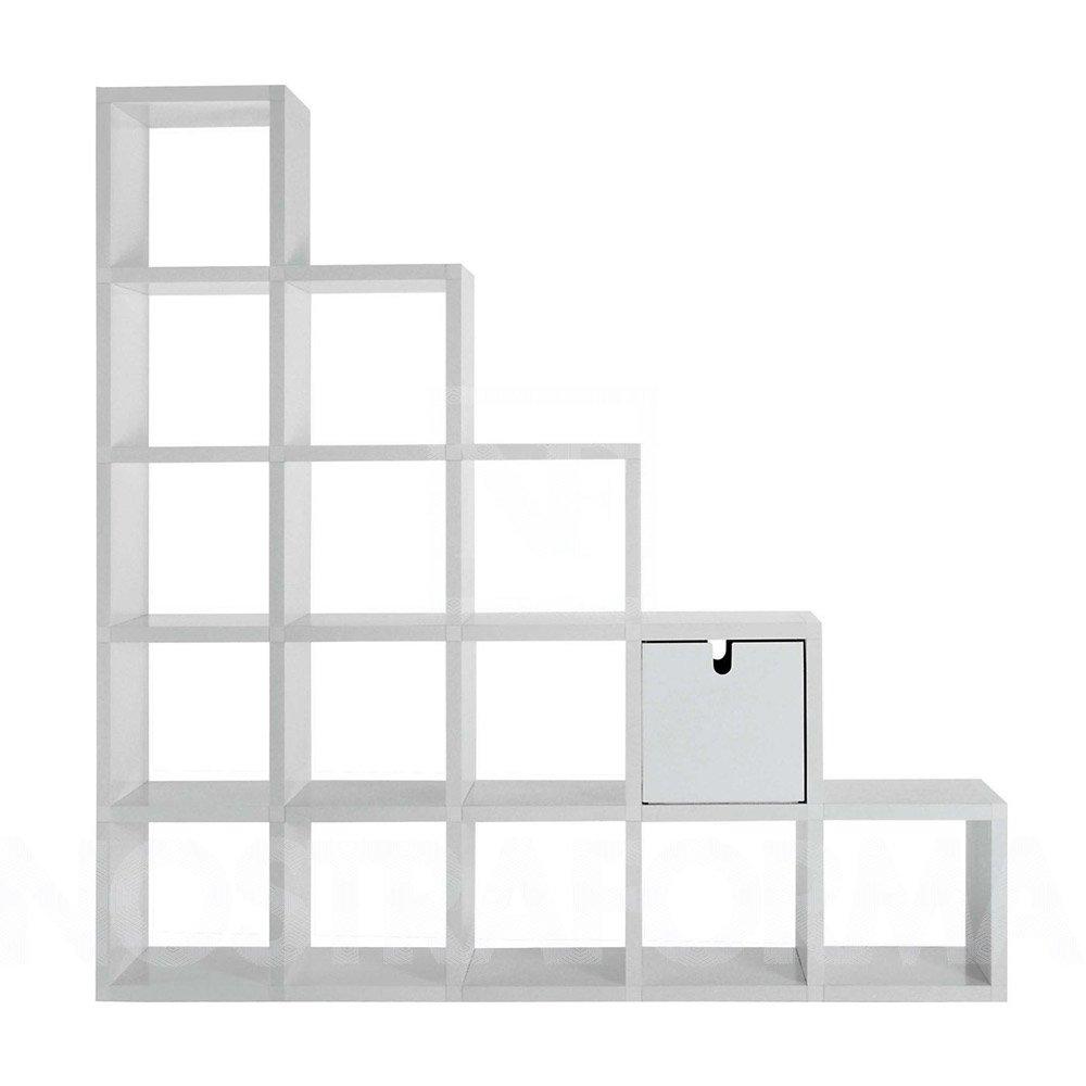 Scaffali e librerie libreria componibile da kartell for Cubi libreria ikea