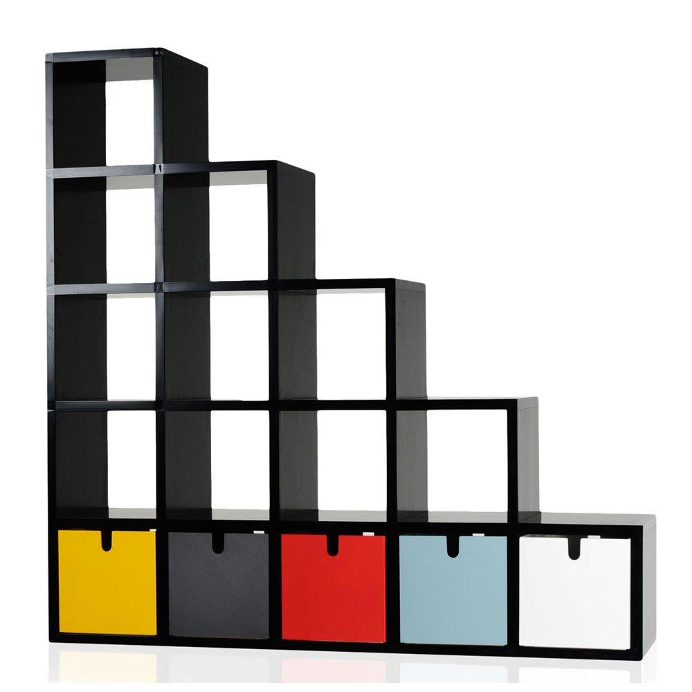 bibliotheque cube. Black Bedroom Furniture Sets. Home Design Ideas
