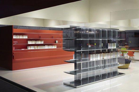 Scaffali e librerie libreria na s b da unifor for Unifor milano