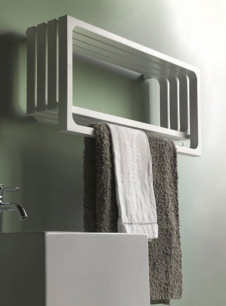 Heated towel rack Montecarlo