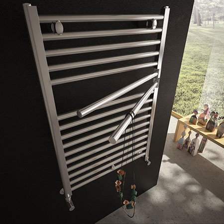 Heated towel rack Krom