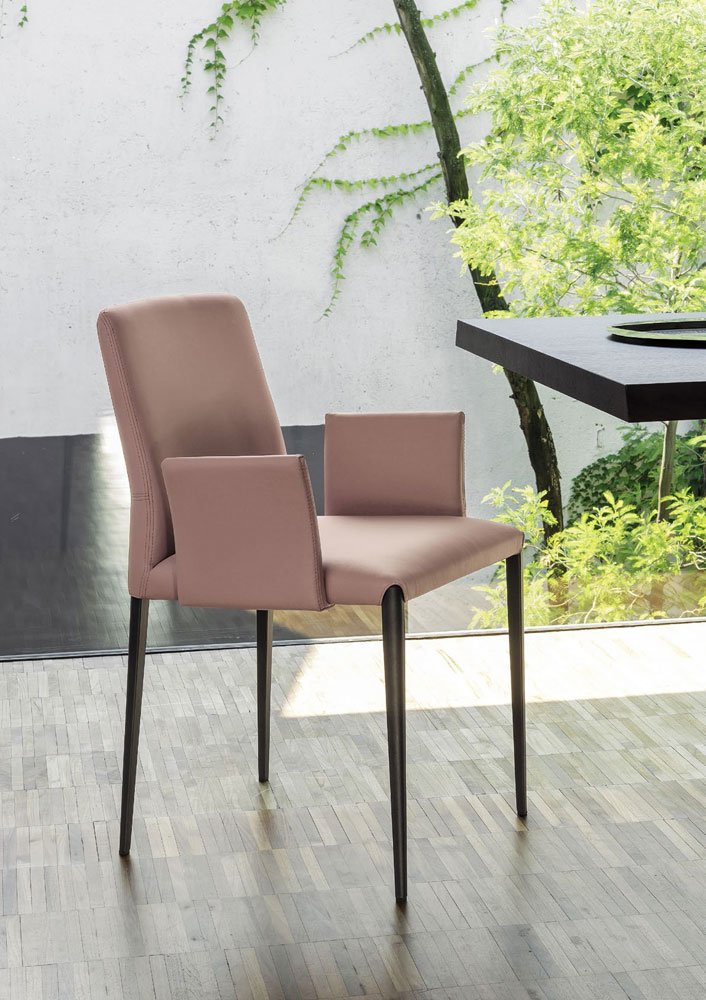 Chairs chair aurora by riflessi for Sedie design north america