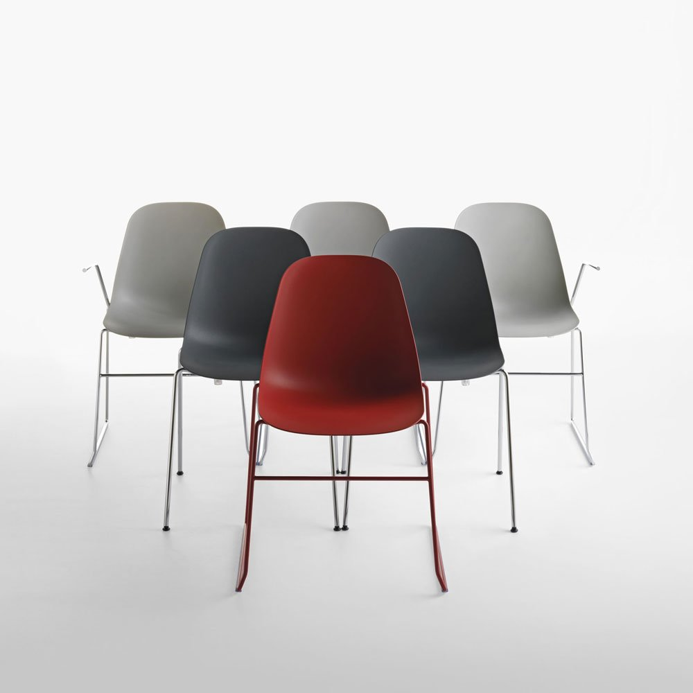 Chairs chair pola b by crassevig for Sedie design north america
