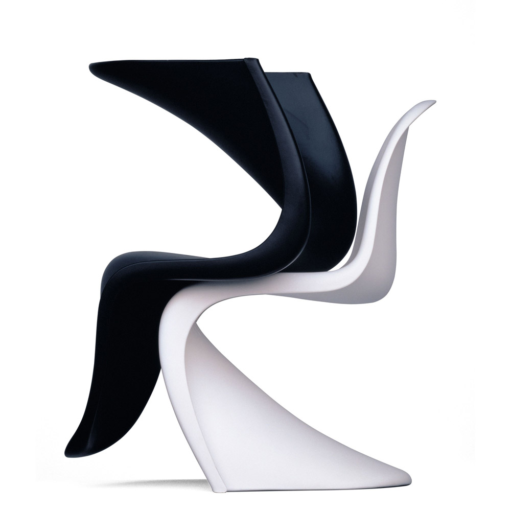 sedie sedia panton da vitra. Black Bedroom Furniture Sets. Home Design Ideas