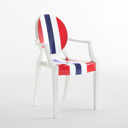 Chair Louis Ghost - It's a wrap collection