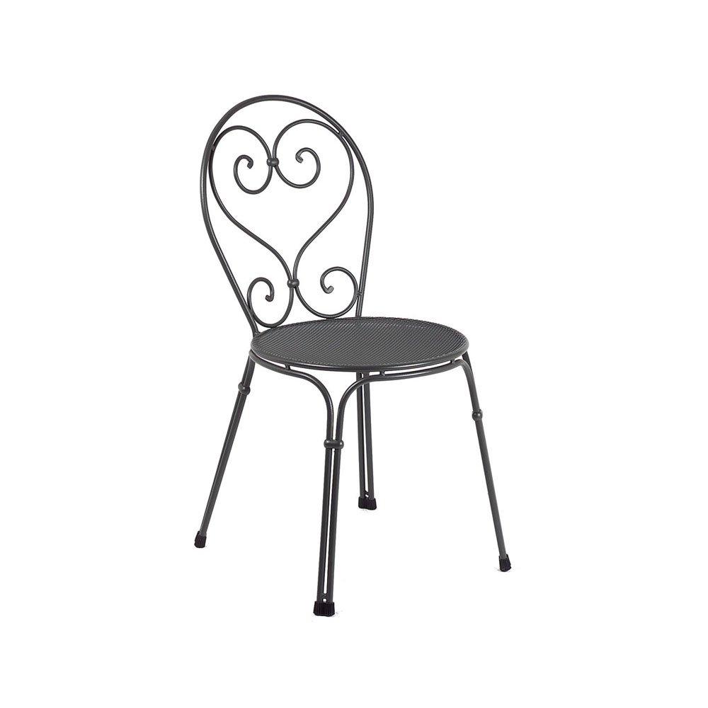 Sedie da giardino sedia pigalle da emu for Sedie da giardino economiche