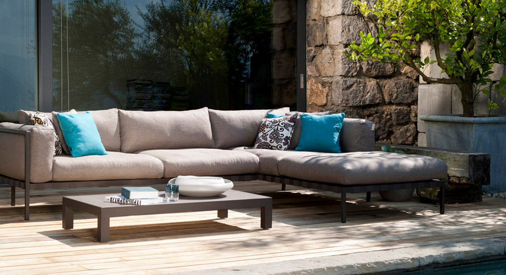 Outdoor Chairs Arrangement Natal Alu Sofa By Trib 249